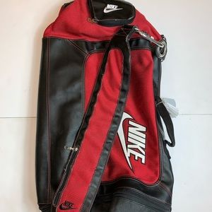Nike Duffle Bag Stitched Embroidered Sports Team